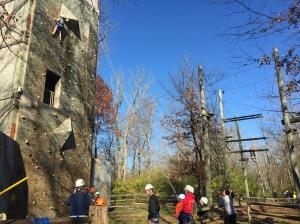 Climbing & Rappelling Tower