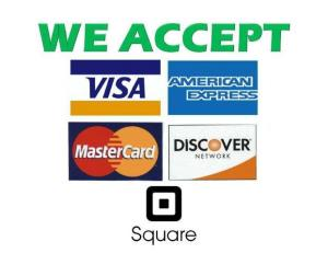 Flyer - We Accept Credit Card